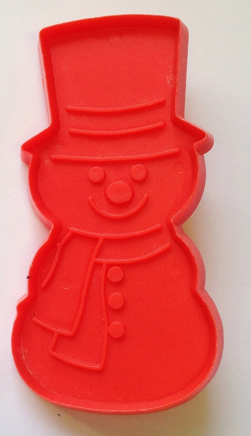 "1970's SNOWMAN Christmas Cookie Cutter by HALLMARK (4 1/2"" Tall)"