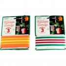 Bundle of 2 Wrights Ribbon Candy Ornament Kits Green/Red & Orange/Yellow