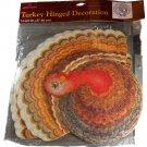 American Greetings Die Cut Hinged Turkey Decoration 14-3/4 Inches