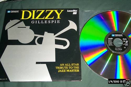 Dizzie Gillespie Rare LD All-Star Tribute To Digital