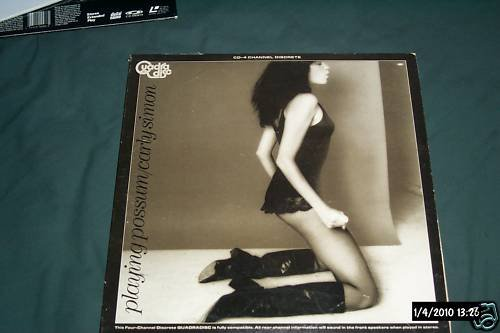 Carly Simon Rare Lp CD-4 Quadradisc Playing Possum NM