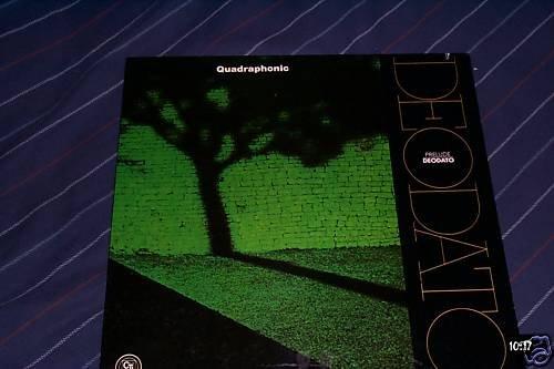 Deodato SQ Quadraphonic LP Prelude Surround Sound NM