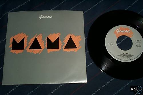 Genesis Rare 45 with sleeve Mama/It's Gonna Get Better