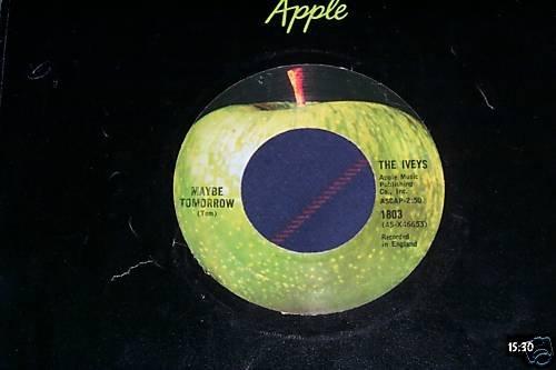 The Iveys(Badfinger) Rare Apple Records 45 Beatles