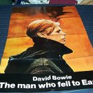 David Bowie Rare Poster The Man Who Fell To Earth 1976