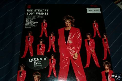 Rod Stewart Quiex II Audiophile Lp Body Wishes NM