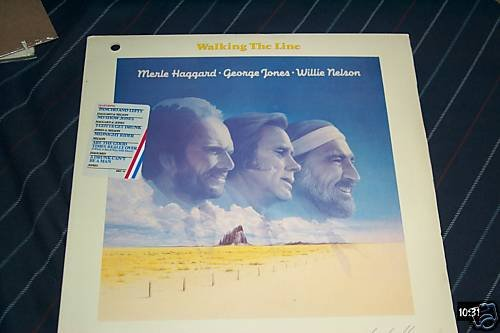 Merle Haggard Willie Nelson Sealed Lp Walking The Line