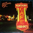Hank Williams Jr. Rare Lp Sealed Montana Cafe 1986