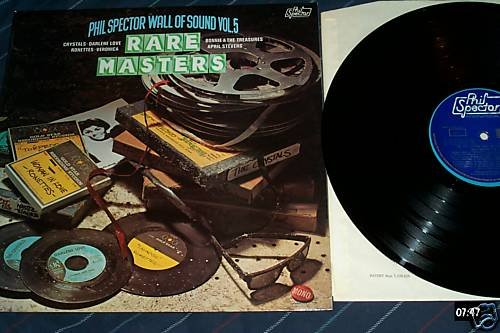 Phil Spector Wall Of Sound Volume 5 Rare Masters UK Lp