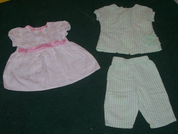 Lot of Girl's Clothes Size 6-9 months