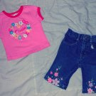 CUTE 2 PC PANTS OUTFIT SIZE 12 MONTHS