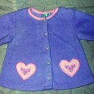2 CUTE SWEATERS SIZE 18 MONTHS