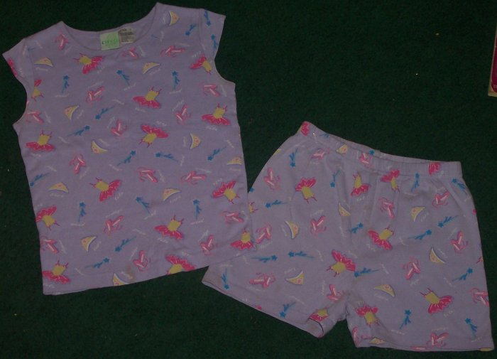 CUTE GIRLS PAJAMAS SIZE 10