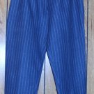 TRACY EVANS GREY PIN STIPED SLACKS SIZE 10