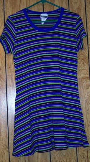 XHILARATION STRIPED DRESS SIZE XL