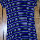 XHILARATION STRIPED DRESS SIZE XL