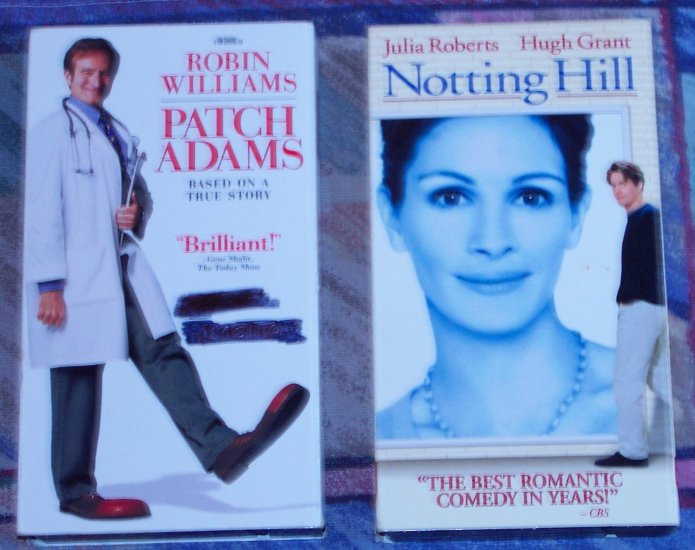 2 COMEDY VHS MOVIES