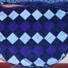 PURPLE PLAID PURSE