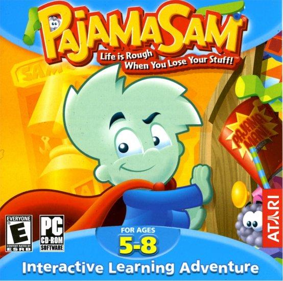 PAJAMA SAM - LIFE IS ROUGH