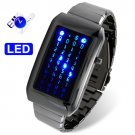 The Warp Core - Japanese Style Blue LED Watch