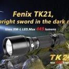 FENIX TK21 CREE MX-L 5 Modes 449 Lumens LED Flashlight