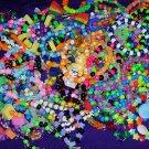 50 Pc Kandi Raver Pony Bead Bracelets Mystery Pack