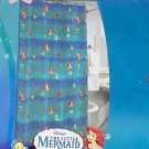Disney Little Mermaid Vinyl Shower Curtain NEW Ariel