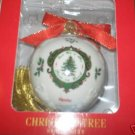 SPODE CHRISTMAS TREE ORNAMENT GOOD WILL PEACE ON EARTH