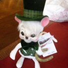 "Annalee 6"" Michael O'Mouse 2005 NEW Irish St Patrick"
