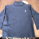 Ralph Lauren 2T Boy Girl Blue Turtleneck NEW Top Shirt