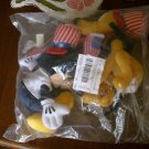 Disney Mickey Mouse Pluto 4th Of July Bean Bag Toys