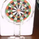 Godinger Shannon Crystal Dart board Sculpture NIB NEW