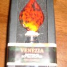 Venezia Murano Glass Bottle Stopper NEW NIB Red Multi