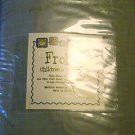NEW FROLICS BLUE WHITE TWIN SHEET SET NIP