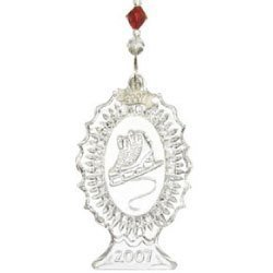 Waterford Crystal 2007 Victorian Skates OrnamenT 1ST ED