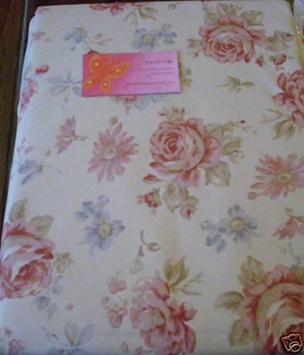 Ralph Lauren Fairdale Floral Tablecloth NEW 60 x 84