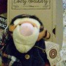 """Disney Boyd Poohs cozy Holiday Tigger 10"""" Plush Retired"""