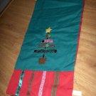 Jabara Christmas Table Runner NEW  Green Country