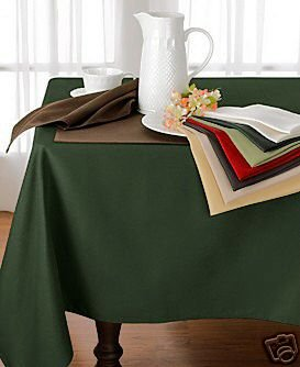 Ralph Lauren Harrison Hunter Green Tablecloth NEW 70""