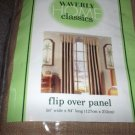 WAVERLY HENDERSON DESERT BEIGE FLIPOVER PANEL NEW NIP