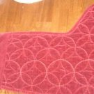 Bella Lux Holiday Christmas Stocking NEW Red Quilted
