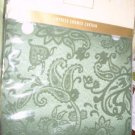 NEW SHOWER CURTAIN Lenox Empress Moss Green NIP 70 x 72