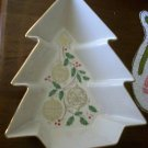 Lenox Christmas Tree Ornament Star Holly Dish Holiday