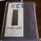 No boundaries Purple Crushed Panel NEW NIP 42 x 84