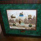 Franklin Mint Sportsman fish & Game Pin Collection Fish