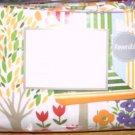 Croscill Garden Flannel Full/Queen Duvet Cover NEW