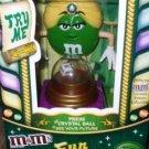 M&M's FUN FORTUNES MADAME GREEN CANDY DISPENSER NEW NIB