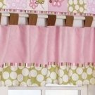 "NEW NIP COCALO BABY ""A LA MODE"" WINDOW VALANCE Nursery"