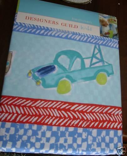 Designers Guild Kids Full Duvet Cover Roadsters Trucks