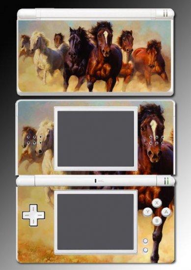 Horses Pretty Pony Stallion Skin for Nintendo DS Lite